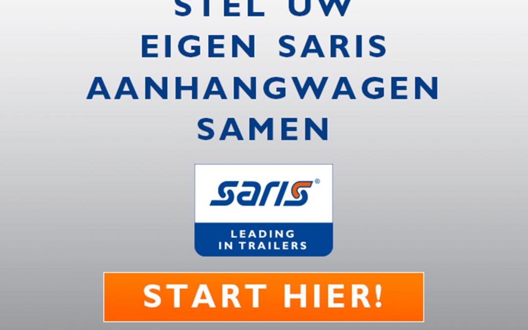 Vanaf nu ook dealer van SARIS aanhangwagens Saris aanhangwagen Saris aanhanger www.jvanlaartrading.nl