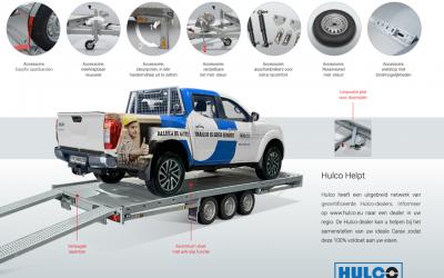 NIEUW de Hulco CARAX XXL autoambulance/autotransporter HeavyDuty uitvoering