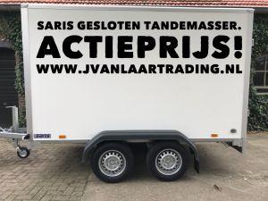 Saris DV-135-Geremde-gesloten-aanhangwagen