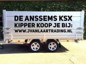 Anssems KSX-2500-elec.-Driezijdige-Kipper-Loofrekken