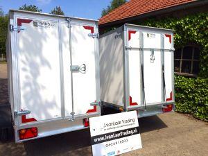 Twins Trailers Gesloten-aanhangwagen
