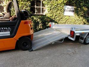 Hulco Terrax-VERHUUR-Machinetransporter