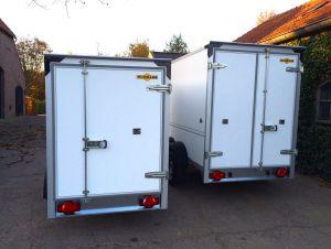 Humbaur Gesloten-aanhangwagen.