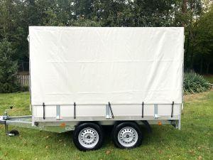BW-Trailers Plateauwagen-+-Huif