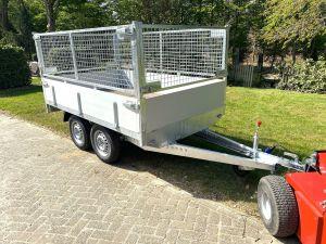 BW-Trailers Plateauwagen-+-Loofrekken