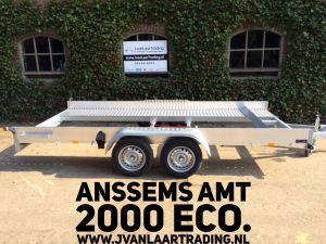 Anssems AMT-1300-ECO-Enkelasser-Autotransporter